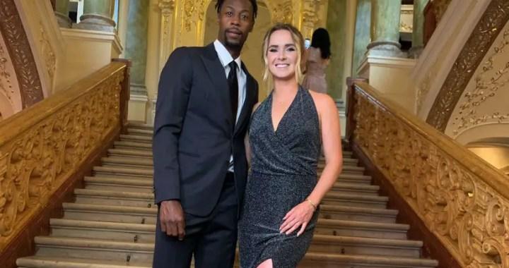 Elina Svitolina and Gael Monfils visited the Odessa Opera House