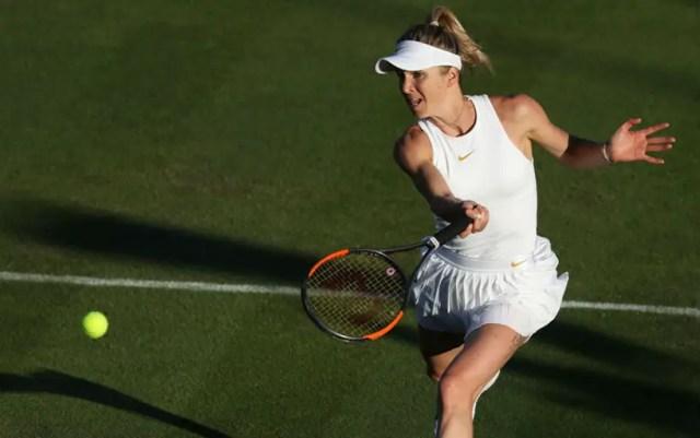 Elina Svitolina continues performance at Wimbledon