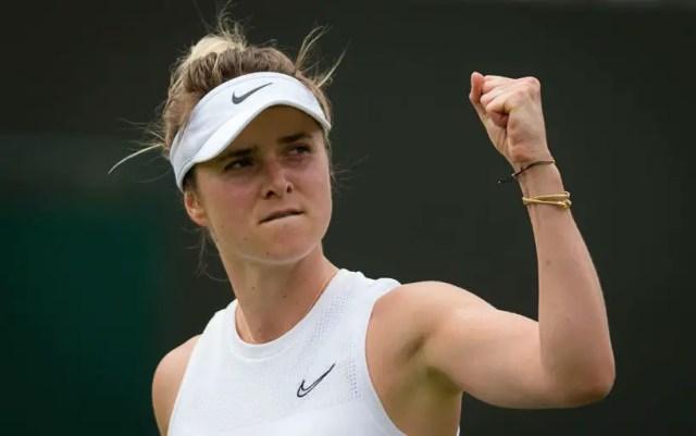 Elina Svitolina will play in the Wimbledon semifinal
