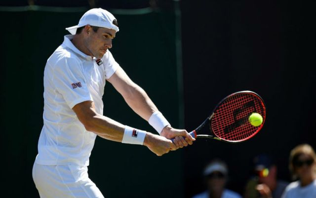 John Isner became the finalist of the tournament in Newport