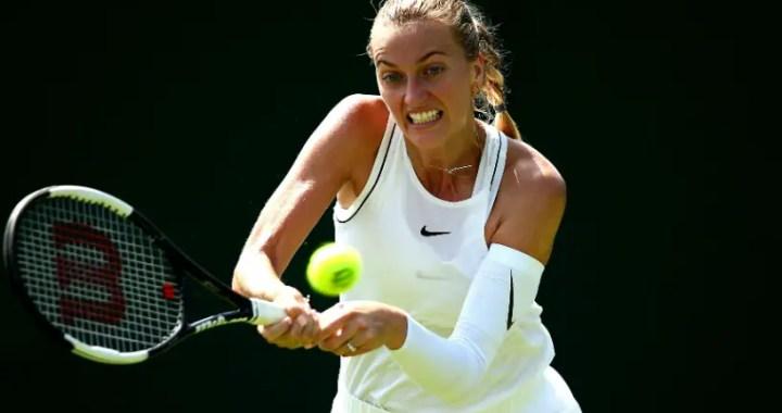 London. Petra Kvitova defeat Kristina Mladenovic