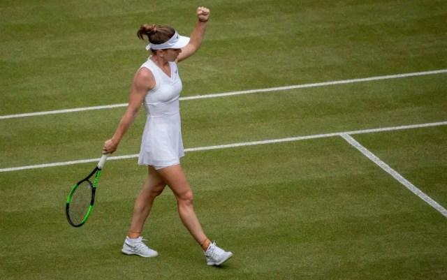 London. Simona Halep defeated Cori Gauff