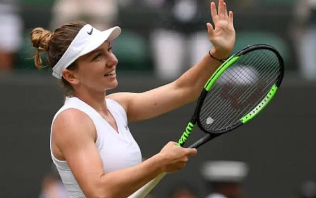London. Simona Halep defeated Elina Svitolina and reached the final