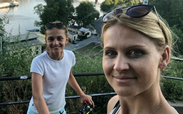 Lucie Safarova is expecting a child