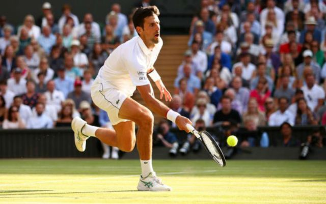 Novak Djokovic beat Roger Federer at Wimbledon