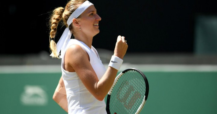 Petra Kvitova will play in the fourth round of Wimbledon