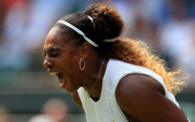 Serena Williams became Wimbledon finalist