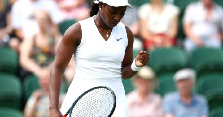 Sloane Stephens continues performance in London