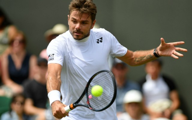 Stan Wawrinka was defeated in the second round of Wimbledon