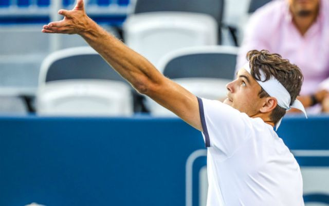 Taylor Fritz will play in the final of the tournament in Atlanta