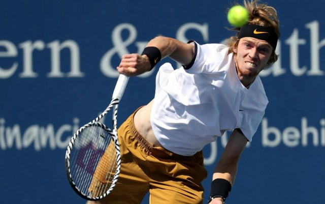 Andrey Rublev: Roger is a real champion and legendary tennis player