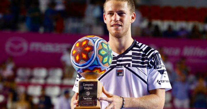 Diego Schwartzman became the champion of the tournament in Los Cabos