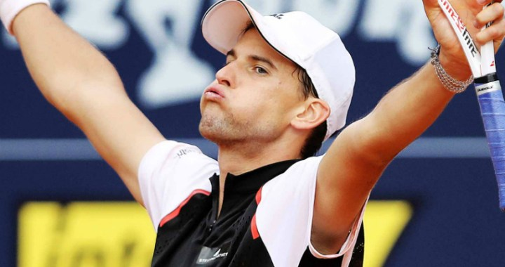 Dominic Thiem won the title at the tournament in Kitzbühel