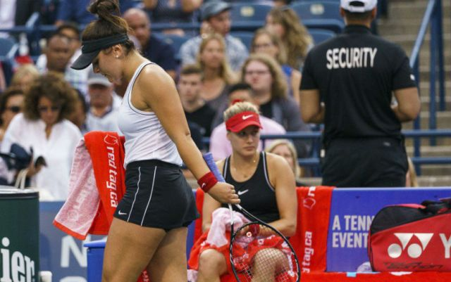 Eugenie Bouchard: One defeat means nothing