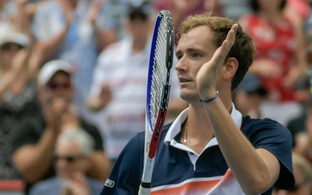 Montreal. Daniil Medvedev defeated Karen Khachanov and reached the final