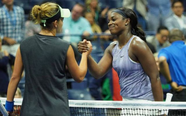 Sloane Stephens: Kalinskaya did an excellent job