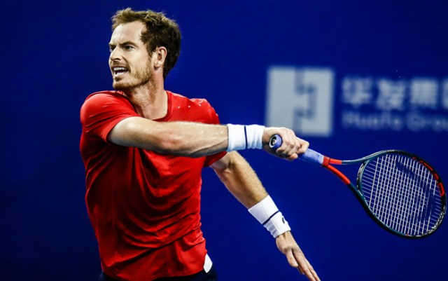 Andy Murray became the lowest-rated quarter-finalist in the history of the tournament in Beijing