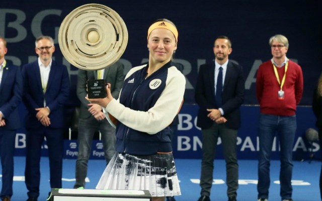 Jelena Ostapenko: It's great to end the season with the title