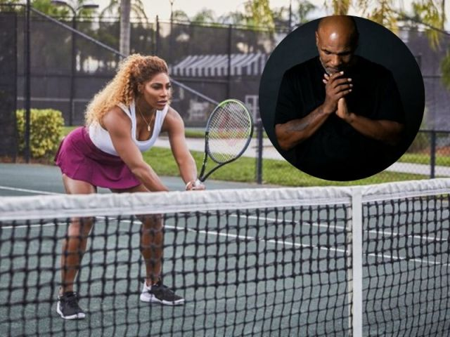 Serena Williams and Mike Tyson have a joint training