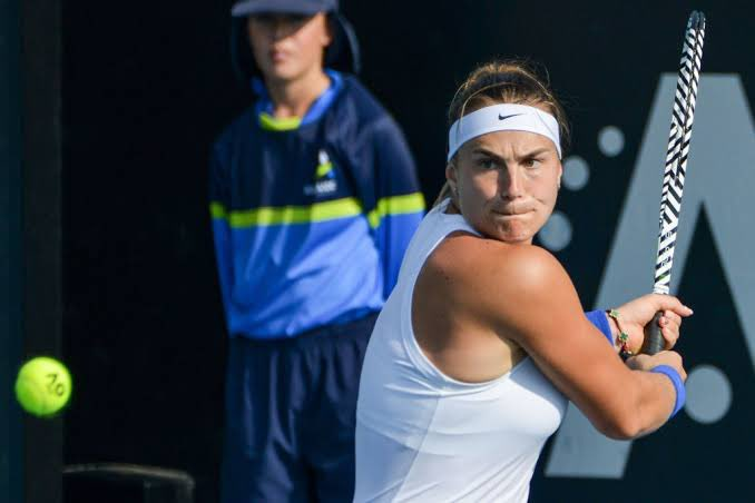Aryna Sabalenka at Adelaide Tennis Tournament