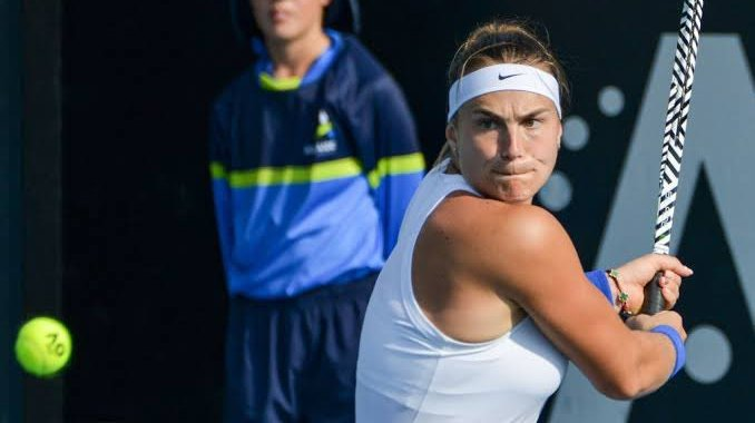Aryna Sabalenka: Beating such strong opponents is insanely pleasant