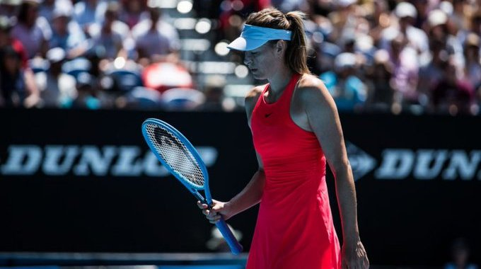 Maria Sharapova increased the losing streak to four matches.