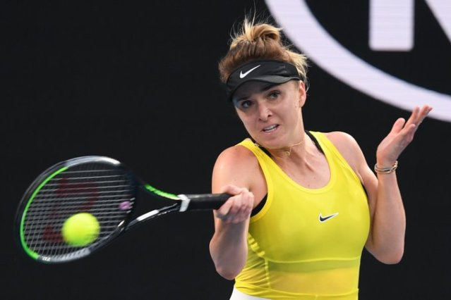 Elina Svitolina showed a set of exercises to improve leg work