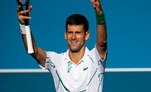 Novak Djokovic: It is hard to remember the last time I spent so much time with my family