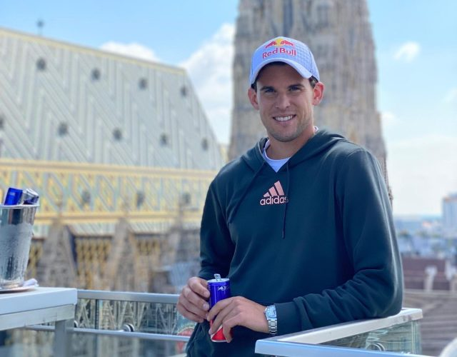 Dominic Thiem: It's important to be happy even if you're not successful in tennis.