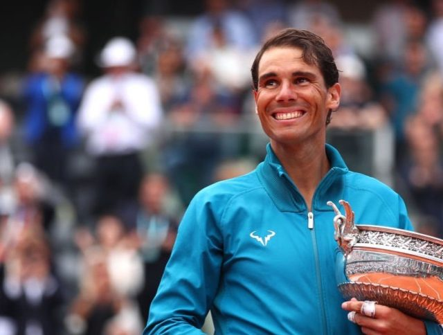 Rafael Nadal: Of course it's nice to break records.