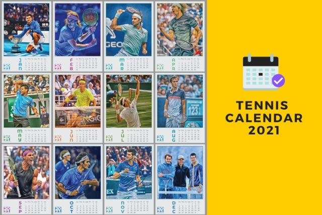 Tennis Calendar 2021 by Sam Branan. Download For Free!