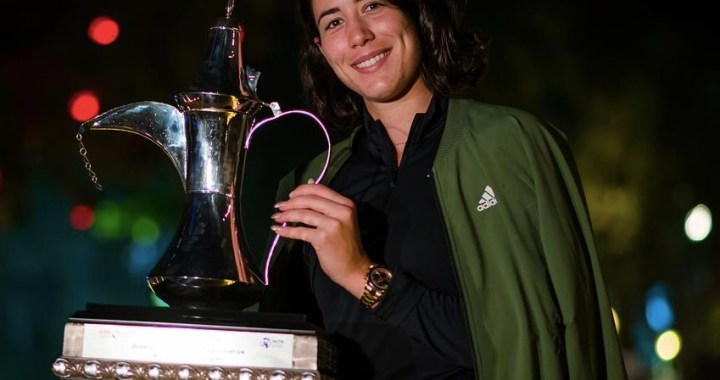 Garbine Muguruza: Proud to be able to perform at a high level every day