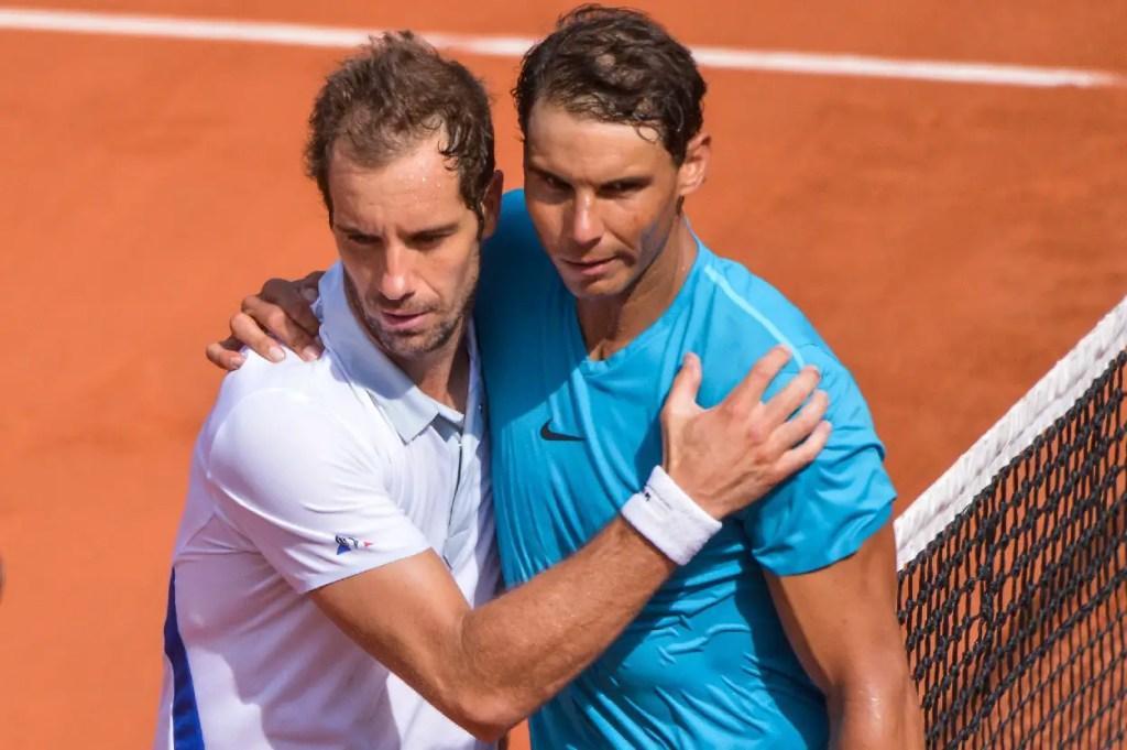 Richard Gasquet and Rafael Nadal