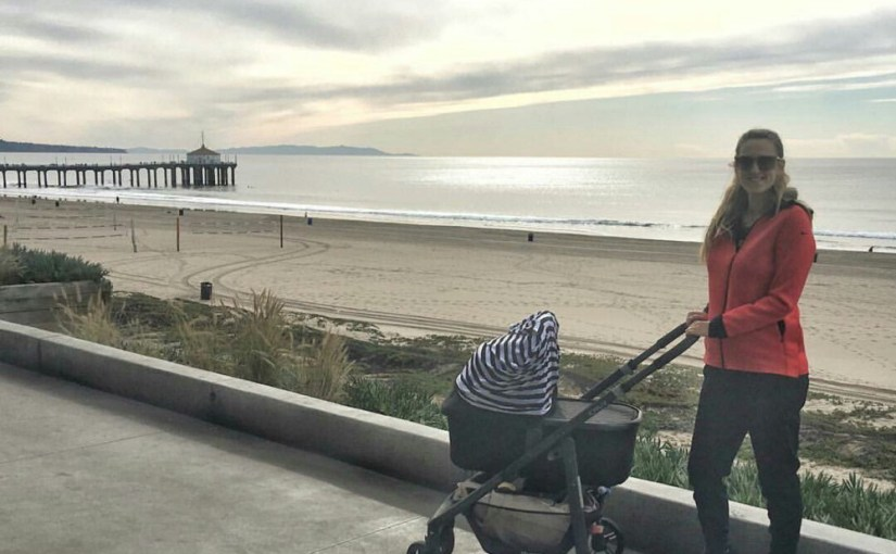 Victoria Azarenka and Her First Walk as a Mother