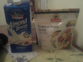 Milk & Frozen Fruit