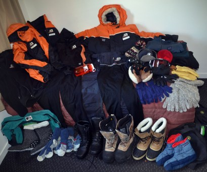 Antarctica clothing (Jan 2013)