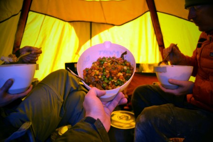 Camp meal (Jan 2013)