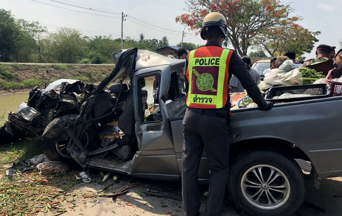 Day Three: Songkran road deaths show a dramatic drop | The Thaiger