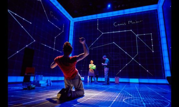 """""""The Curious Incident of the Dog in the Night-Time"""" at Apollo Theatre"""