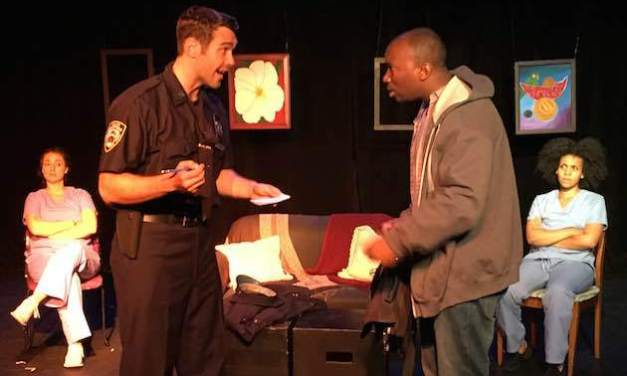 """""""Black & Blue"""" by Kevin Demoan Edwards: A Theater Review"""