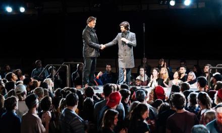 """Immersive """"Julius Caesar"""" at The Bridge Theatre"""