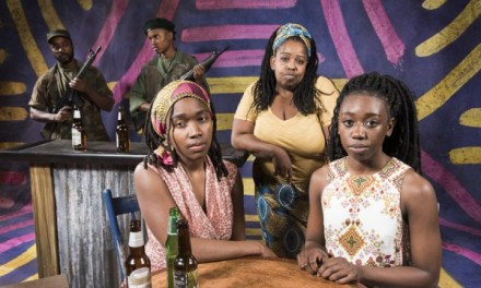 """Dark Glass Theatre's """"Ruined"""" Brilliantly Tells A Story Of Humanity Under Seige–But A Predominantly White Audience (Re)Watching Trauma Is Troubling"""