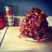 Seven pounds of bacon