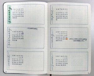 Future log by month for 2017.