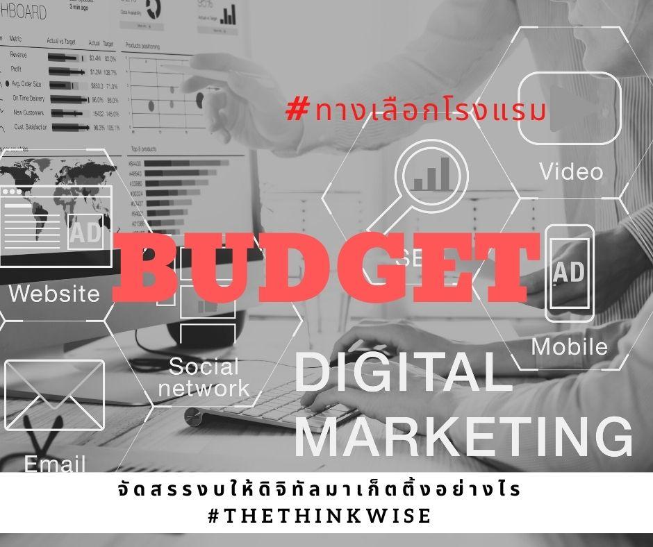digital marketing budget for hotels