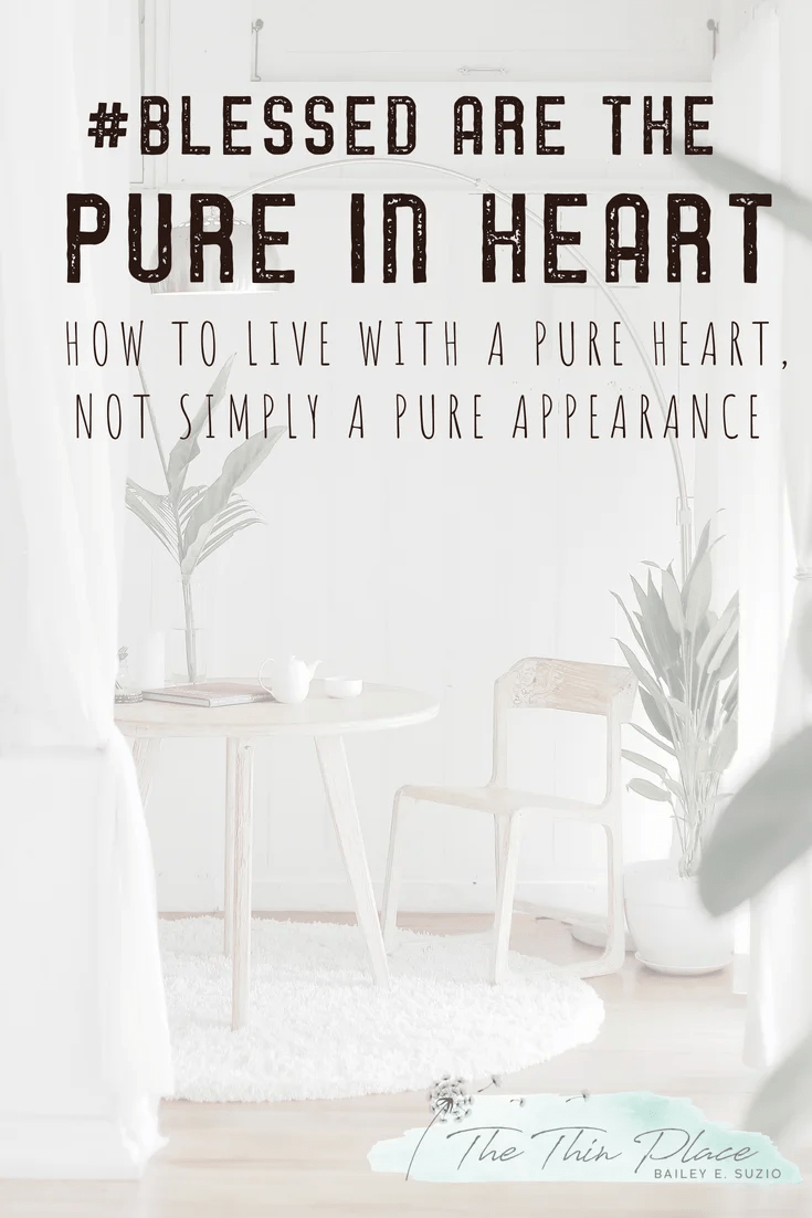 #Blessed are the pure in heart #devotional #christianliving #beatitudes #christianliving #purity