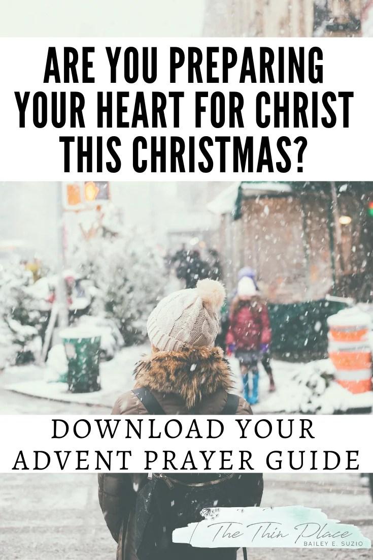 Preparing for Christmas with an Advent Prayer Guide #Jesus #christmas #advent #holidays #christmastime #prayer #biblestudy
