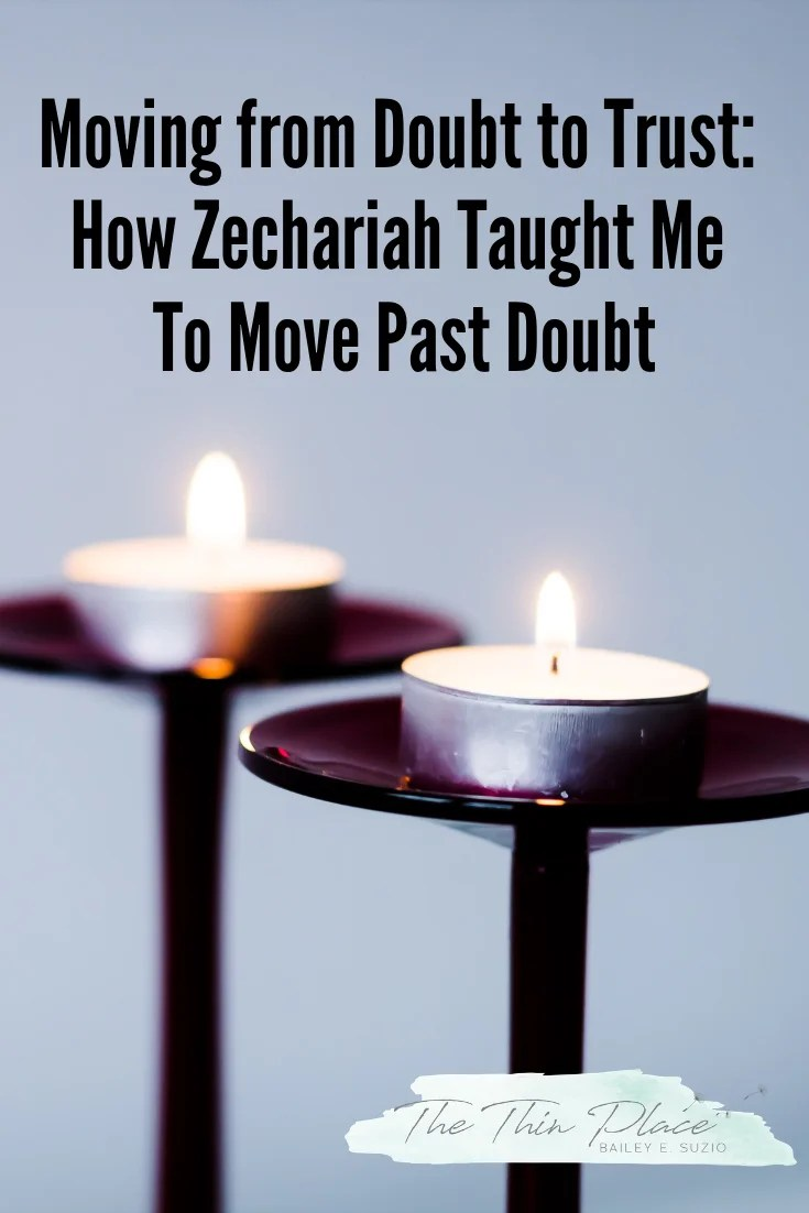 Moving into Faith like Zechariah this Christmas #repentance #faith #advent #christmas #devotional
