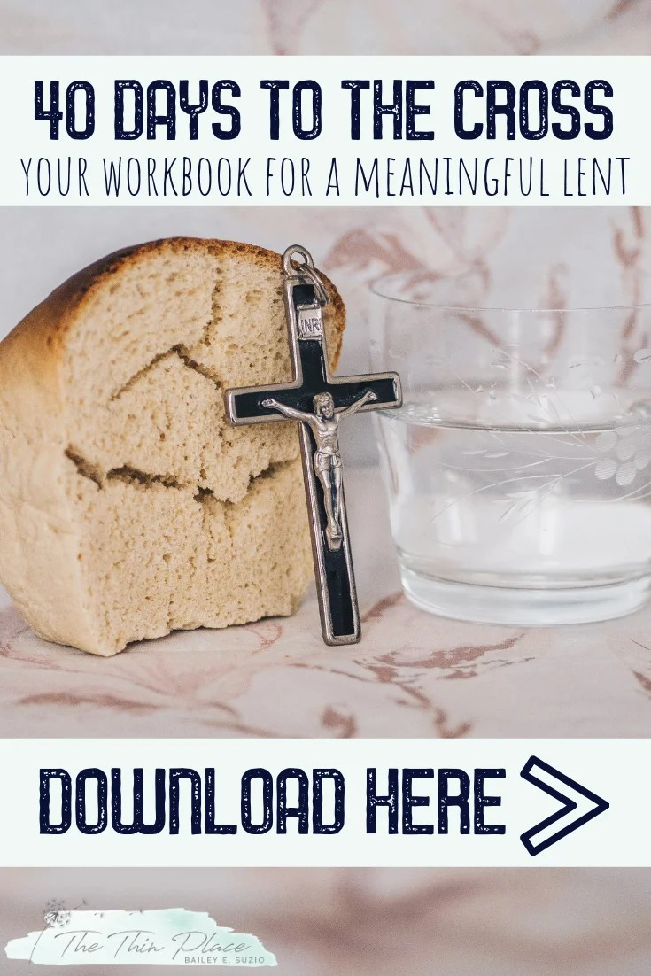40 Day Workbook for Your Best Lent Ever #lent #catholic #christian #whattogiveup #lentideas