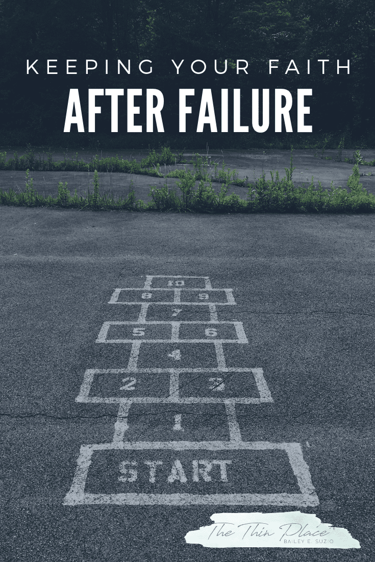 Beginning Again: How to Keep Your Faith When You Feel Like You're Constantly Failing #FreshStart #BibleStudy #christianfaith #christianlife #holiness